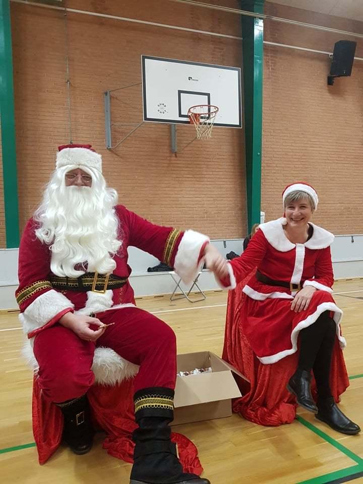 Julemanden og julekonen